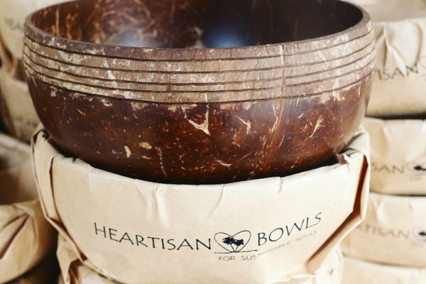 Upcycling Coconut Bowls – Wir stellen Heartisan Bowls vor