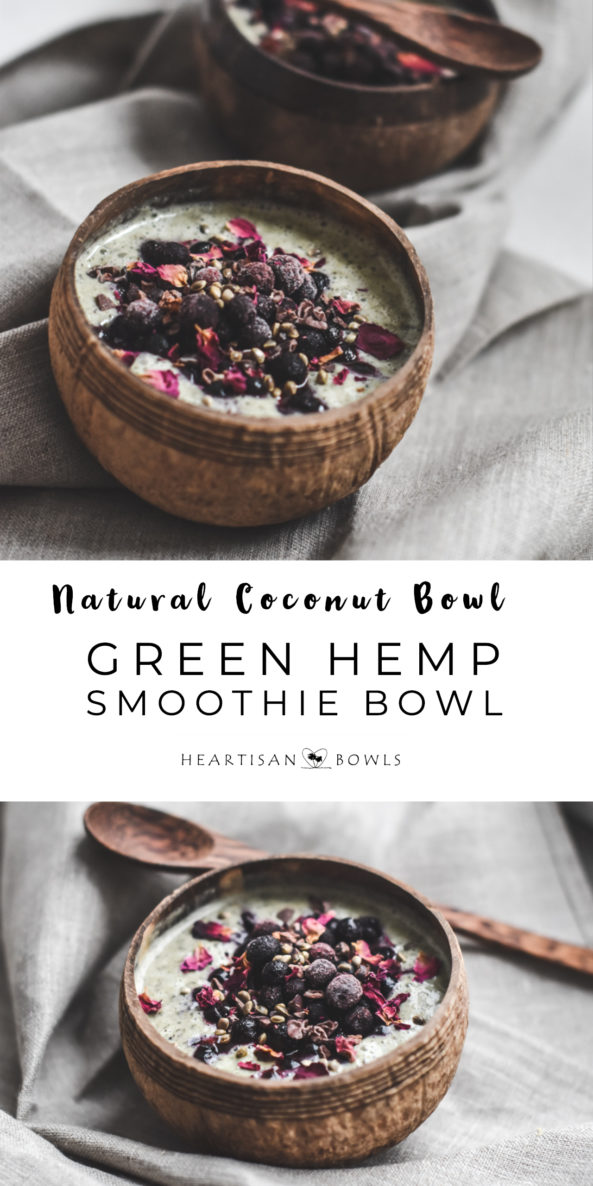 Green Hemp Smoothie Bowl