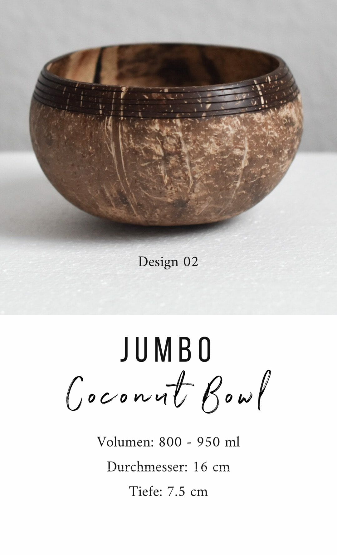 Jumbo Coconut Bowl Design 02