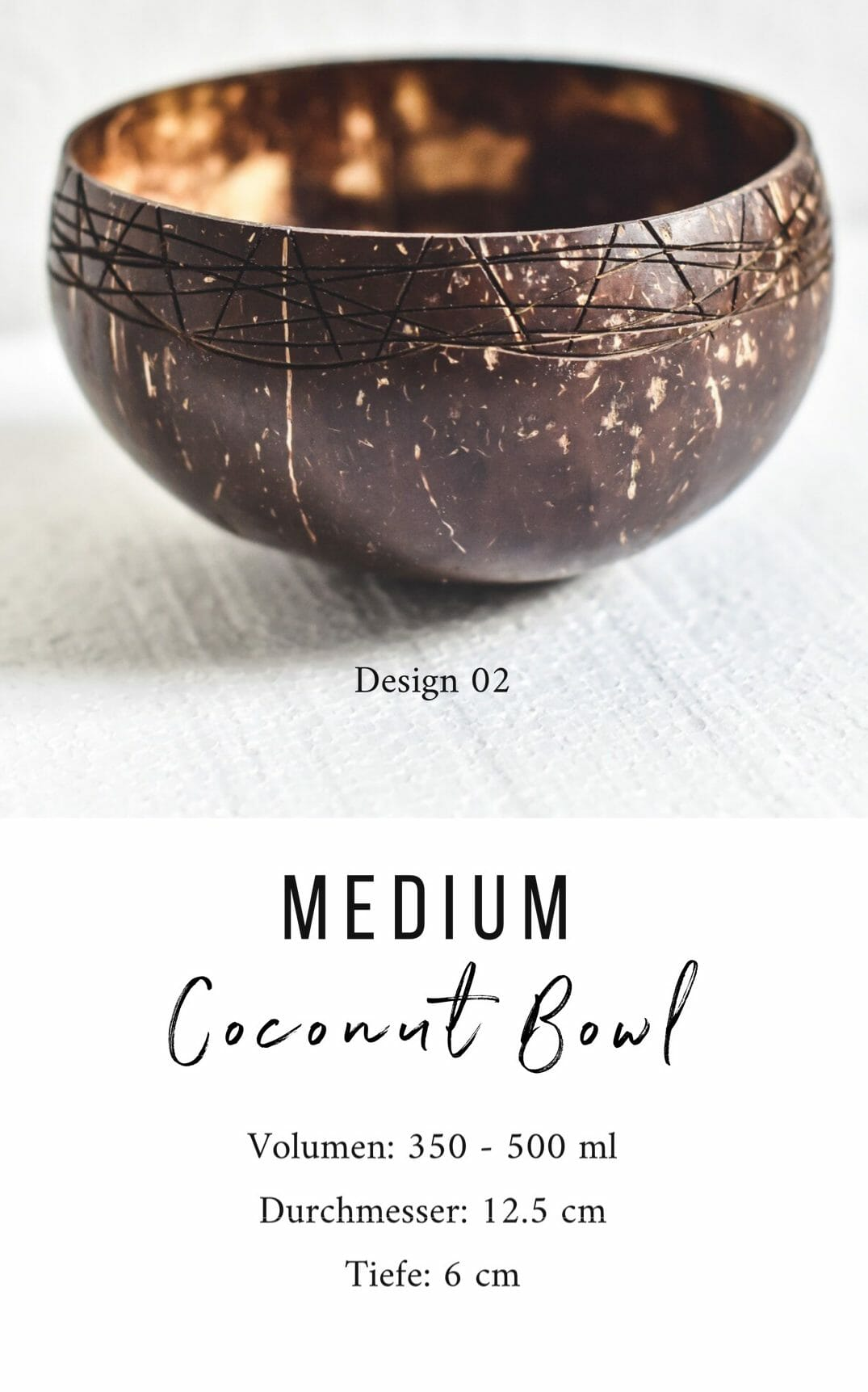 Medium Coconut Bowl 02